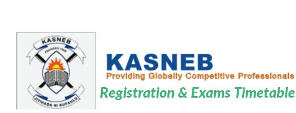 KASNEB 2018 schedule exams registration
