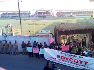 Republic Day boycott in Mizoram