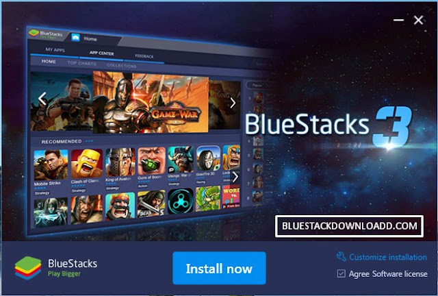 Free Download BlueStacks 3 Gaming Platform Android Emulator BS3 Native Offline Installer Update