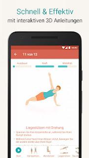 تحميل تطبيق Seven – 7 Minute Workout Training Challenge v8.1.3 [Full Unlocked]