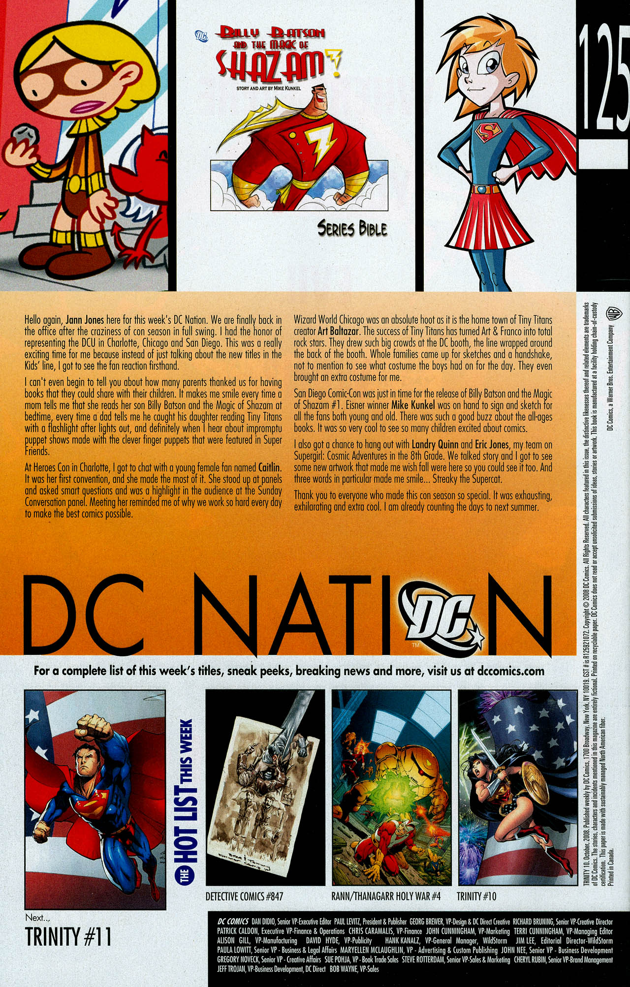 Read online Trinity (2008) comic -  Issue #10 - 32