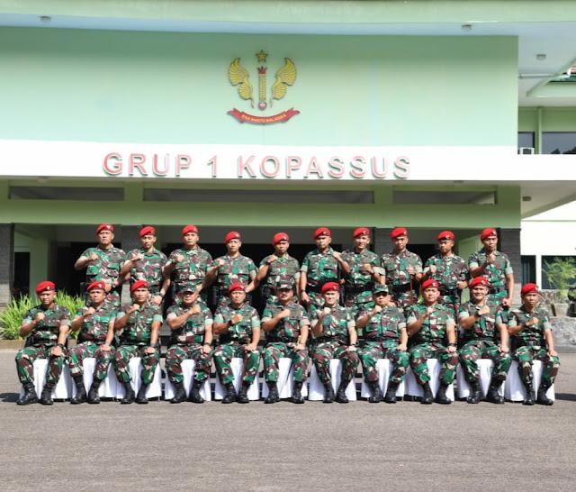 Panglima TNI :  Prajurit Kopassus Momok Menakutkan Bagi Musuh Negara