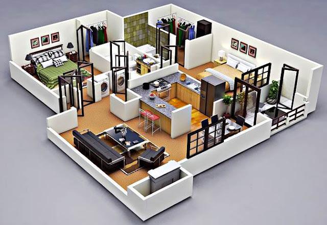 Cara Mudah Membuat Denah Rumah Minimalis Sederhana