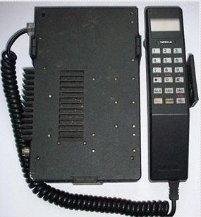 Nokia AUTOline tahun 1988