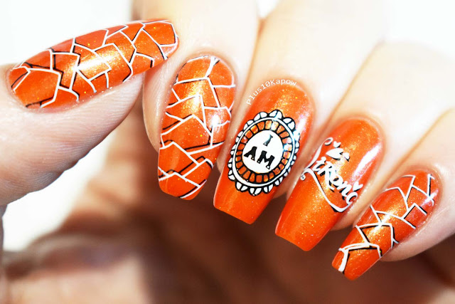 Multiple Sclerosis Nail Art Maniology Women's Empowerment Stamping Plates
