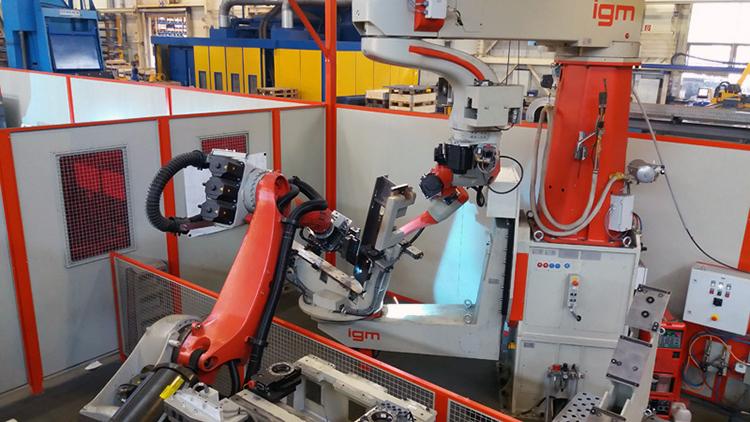 Роботизированная сборка и сварка металлических конструкций