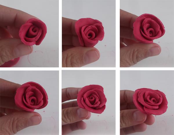 λουλούδι, τριαντάφυλλο, πλαστελίνη, ζύμη