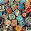 Κατασκευές - Διακοσμήσεις με Πλακάκια σε Ethnic σχέδια