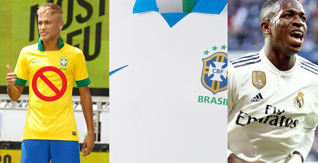 buy online 89ea2 7ee7a Real Madrid Youngster Vinícius Jr To Launch Nike Brazil 2019 ...