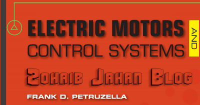Electric Motors And Control Systems By Frank Petruzella