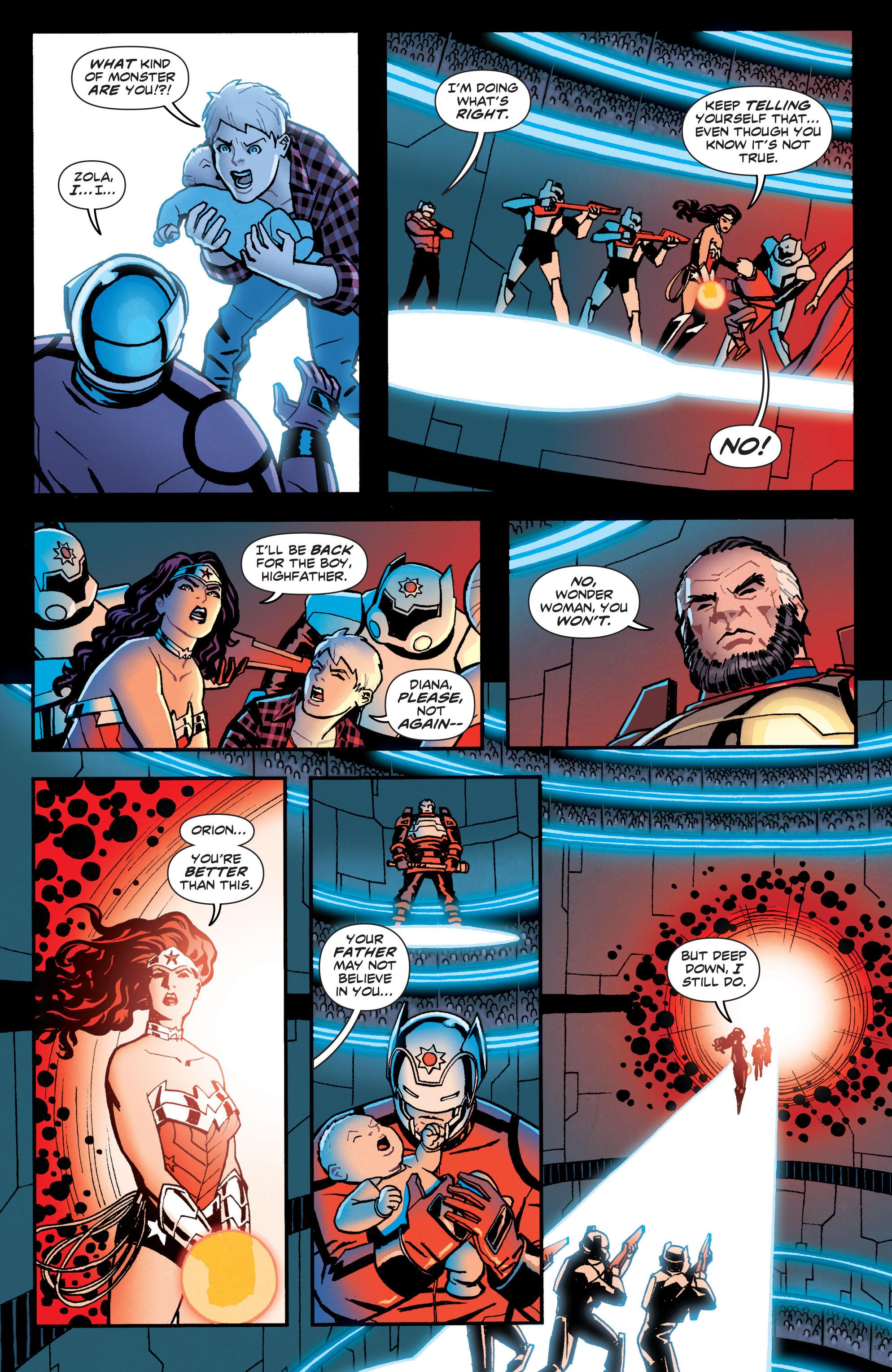 Read online Wonder Woman (2011) comic -  Issue #22 - 15