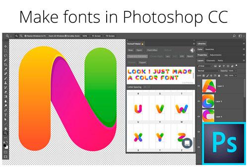 Plugin de Photoshop para crear tipografías