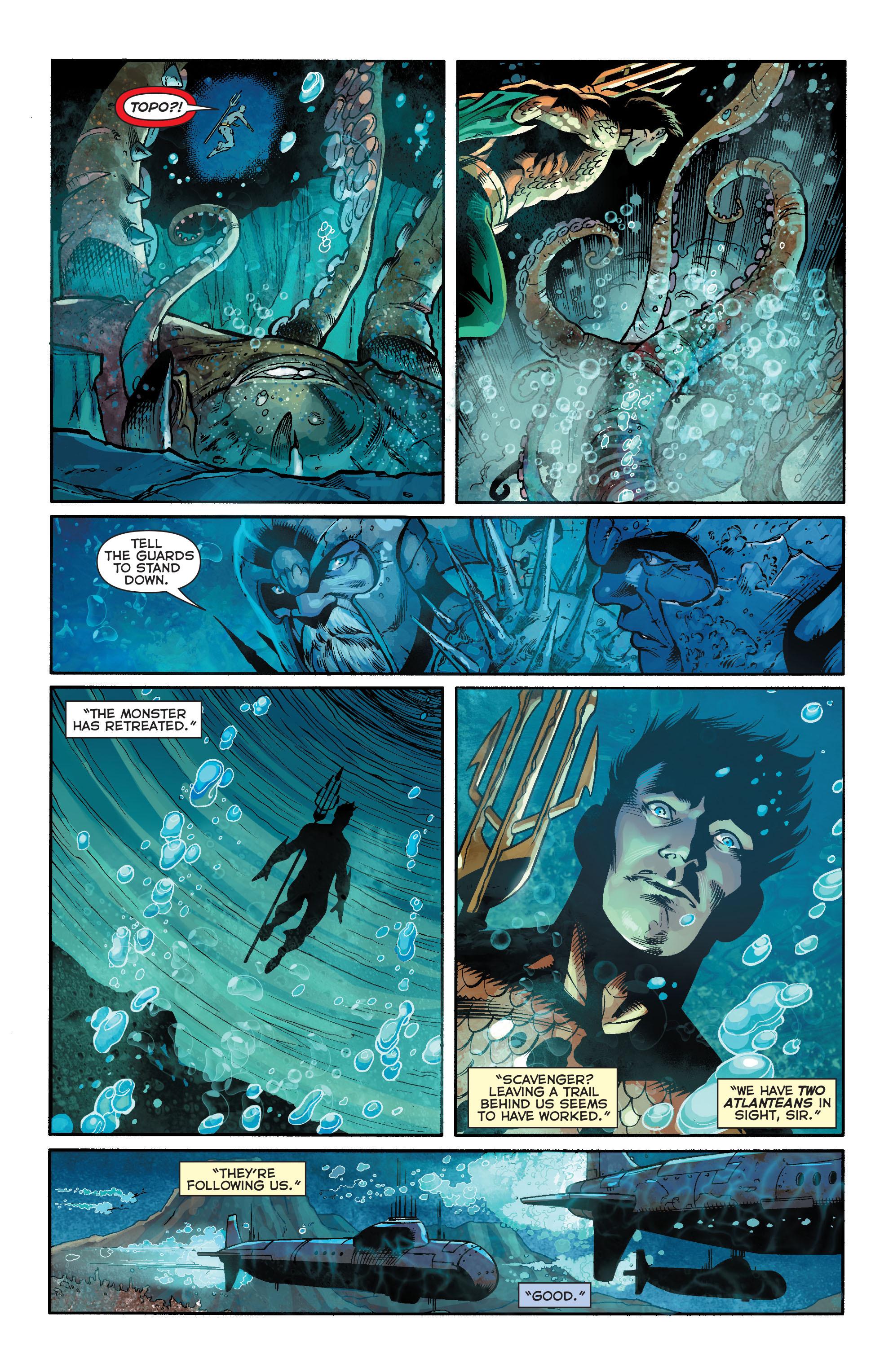 Read online Aquaman (2011) comic -  Issue #19 - 6