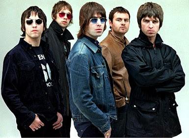 Foto de Oasis posando para fans