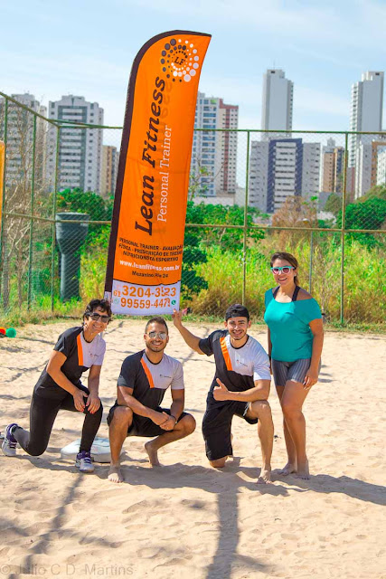 Aulão funcional beneficente Lean Fitness
