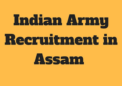 Indian Army Recruitment in Assam