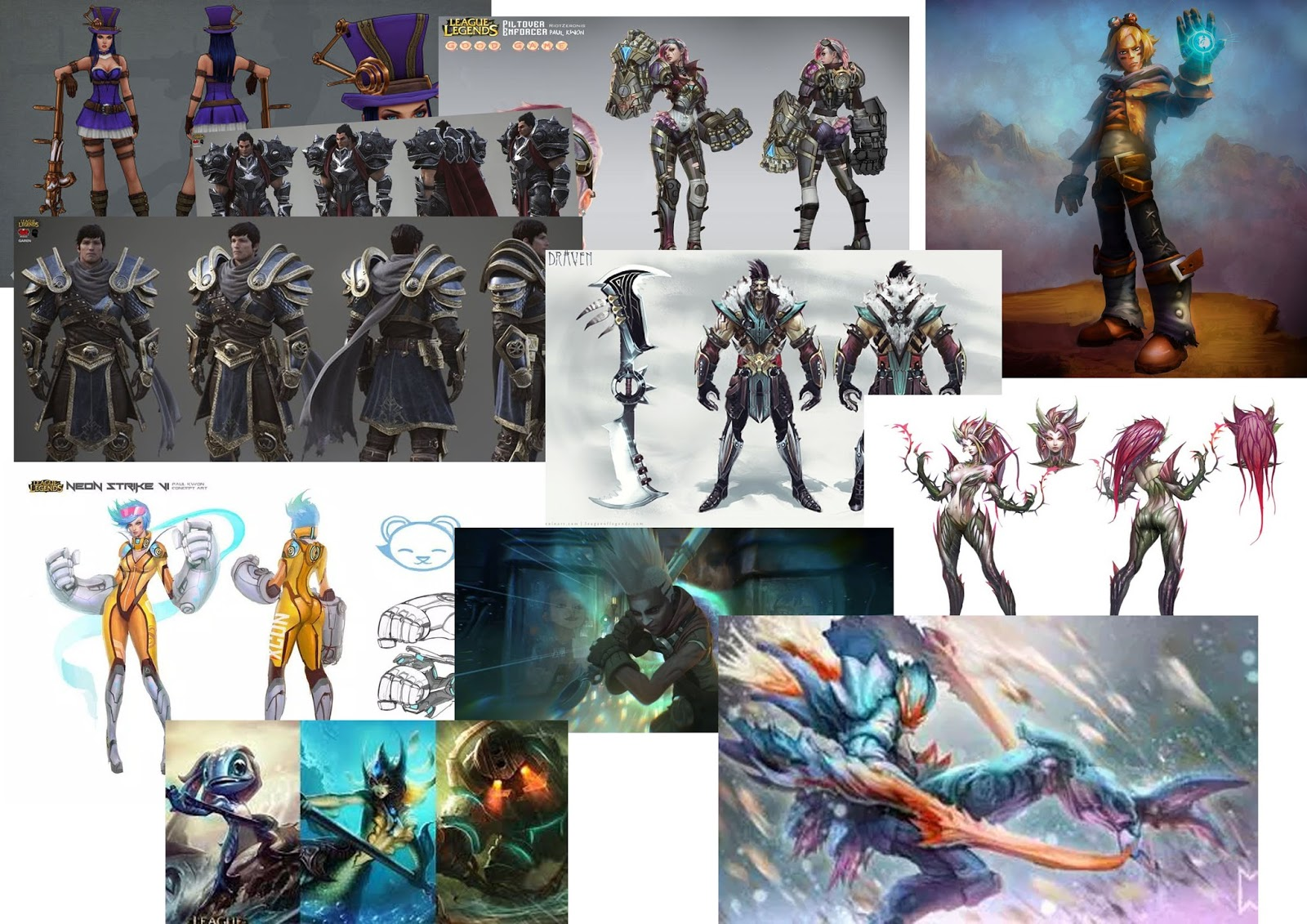 Character Design Mood Board : Elliotcampbellfmp mood board pre production