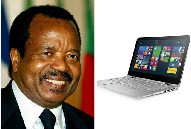 All university students in Cameroon set to receive a laptop each from Paul Biya