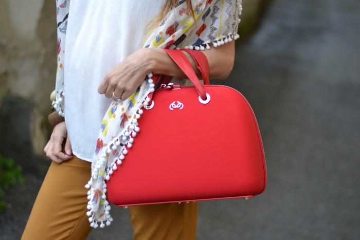 borsa rossa salce 197