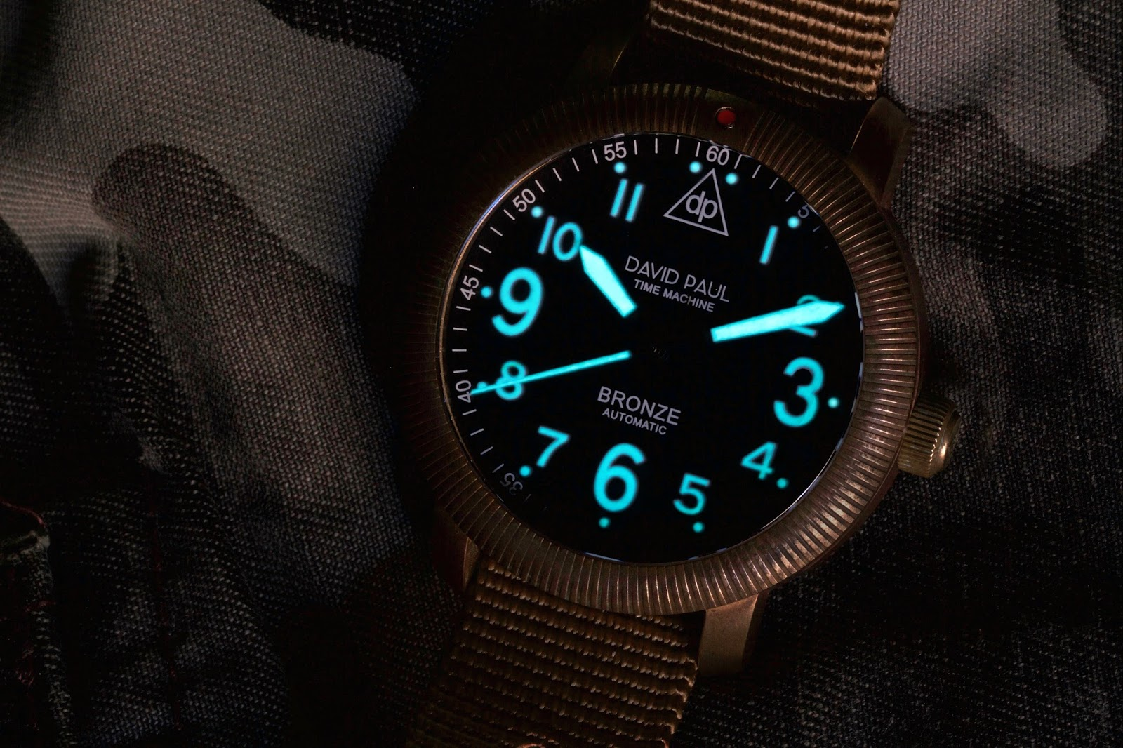 David Paul DP-1 Bronze Time Machine lume