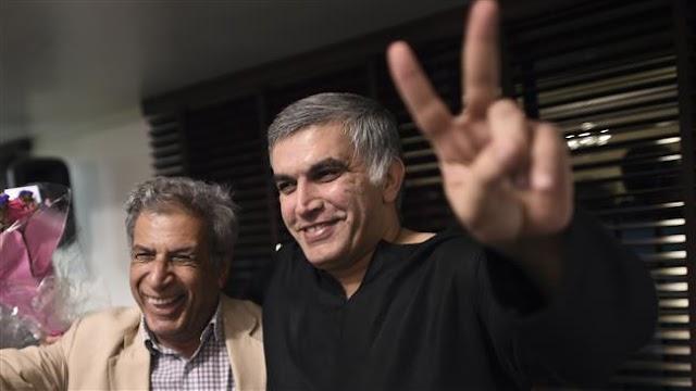 Prominent Bahraini rights activist Nabeel Rajab released pending trial