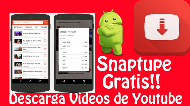 Snaptube for android 2019