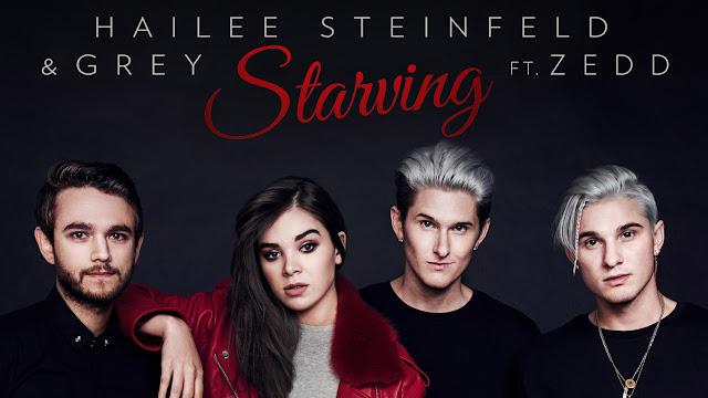 Resultado de imagem para Hailee Steinfeld, Grey - Starving feat. Zedd