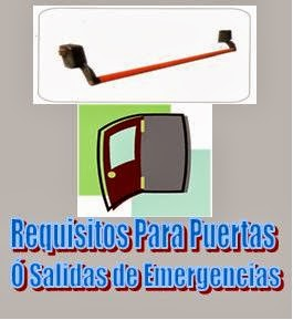 Puertas y salidas de emergencias