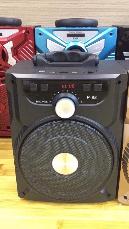 244k - Loa bluetooth karaoke xách tay P88, P89 giá sỉ và lẻ rẻ nhất