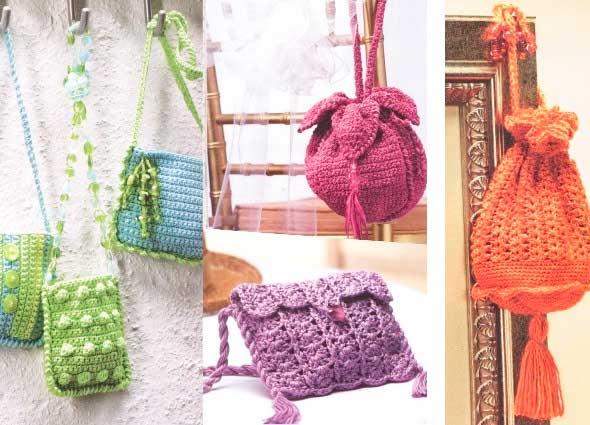 bolsos crochet, bolsos ganchillo, patrones para crochet