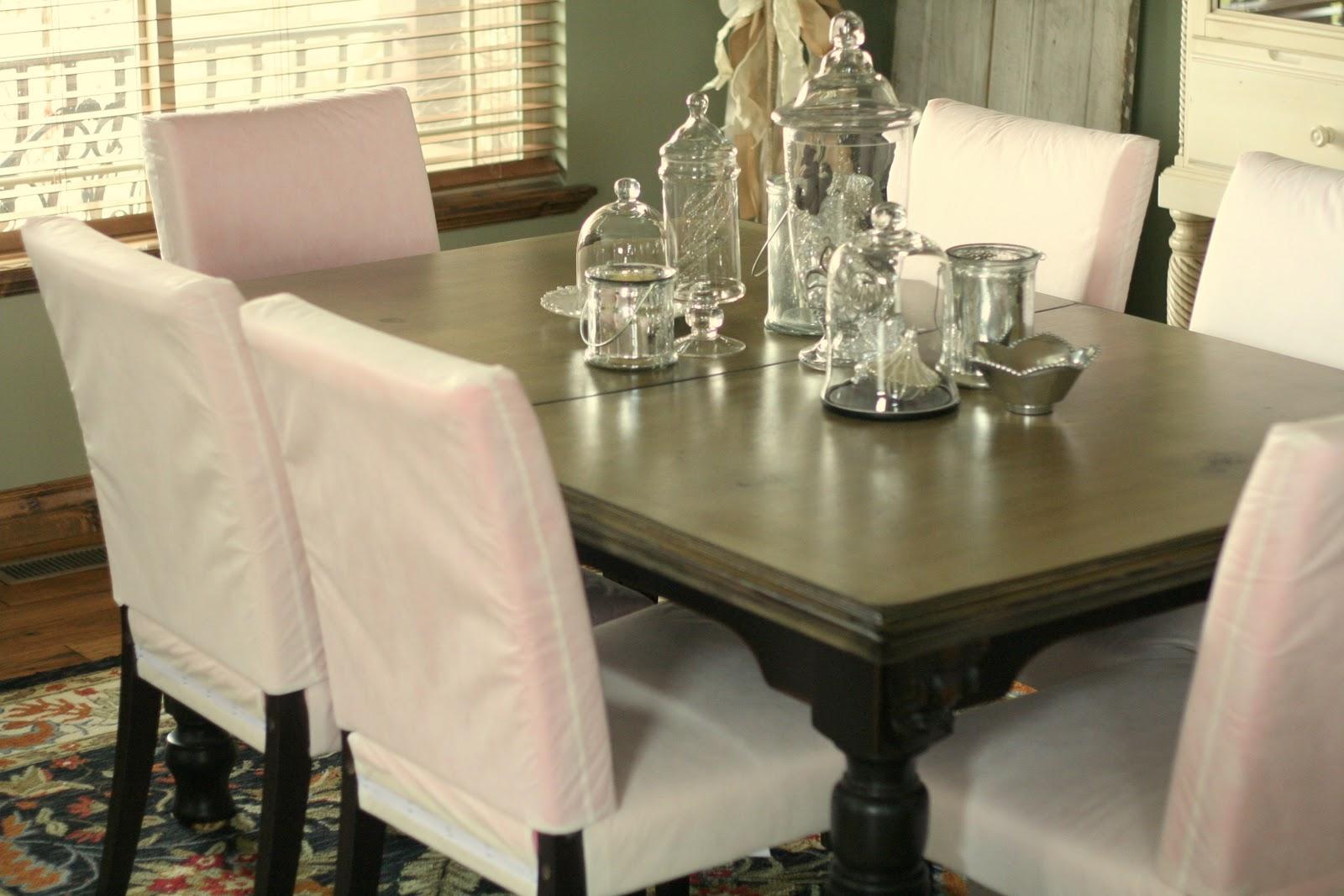Custom Slipcovers By Shelley: Jenn's Parson Chairs