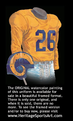Los Angeles Rams 1948 uniform - St. Louis Rams 1948 uniform