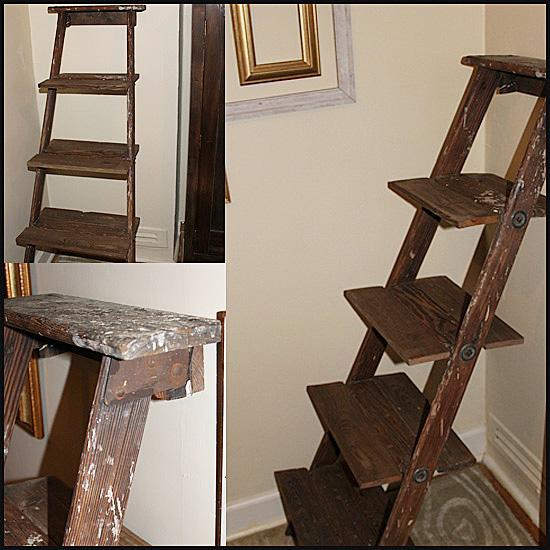Sawdust Designs: Ladder Repurposing