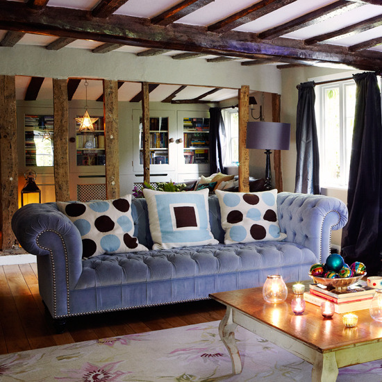 Home Interior Design: Collection of Country Living Room Styles