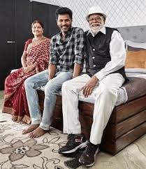 Prabhu Deva with father and mother