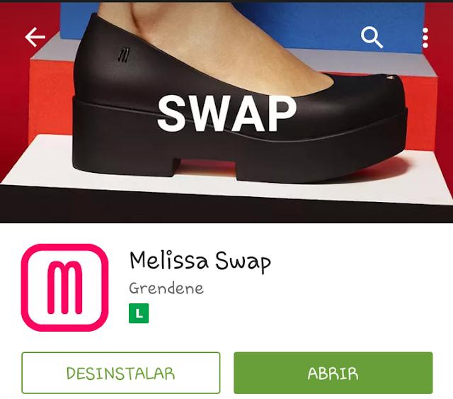 Aplicativo Melissa SWAP