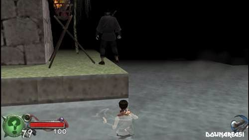 Tenchu Time of Assassins PSP Gameplay Screenshot Tenchu Time of The Assassins PSP ISO