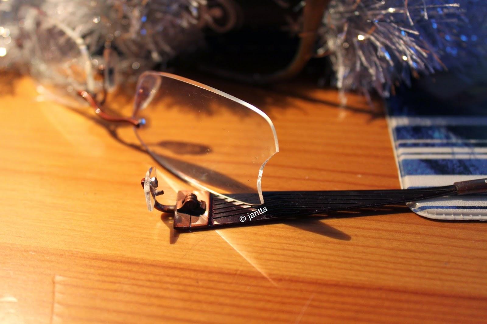 jantta: Uusi vuosi ja uudet silmälasit