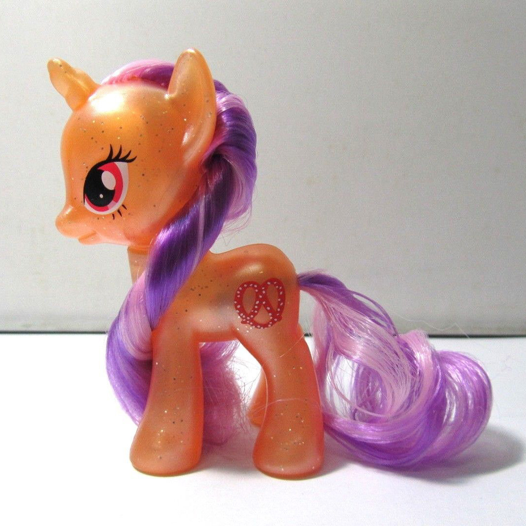 MLP Pearlized Pretzel Explore Equestria Brushable