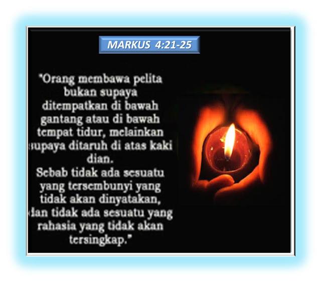 MARKUS  4:21-25