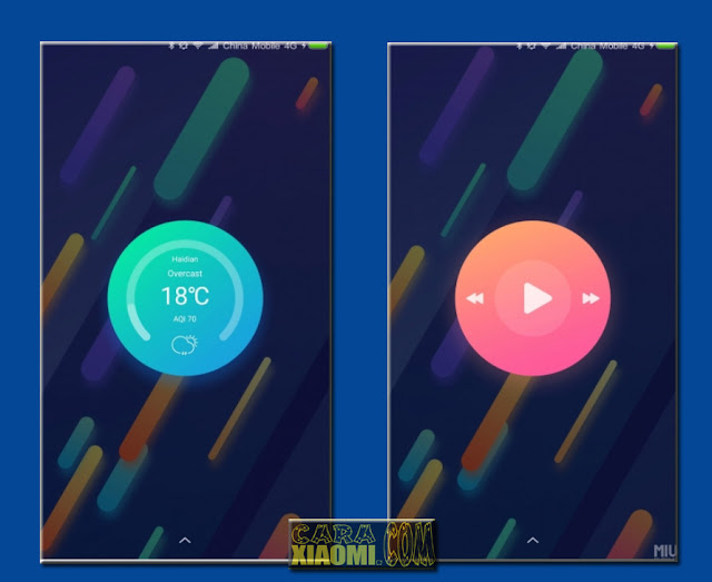 Link Download MIUI Theme Xiaomi MI 6 Customized Mtz Terbaru