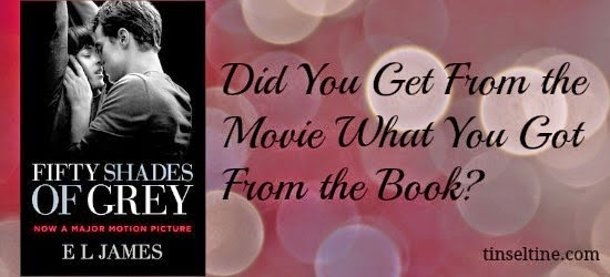 FIFTY SHADES: BOOK TO FILM COMPARISON