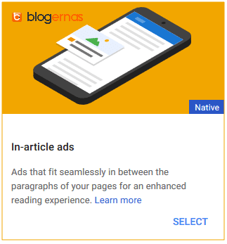 Contoh Lengkap Kode Iklan Adsense