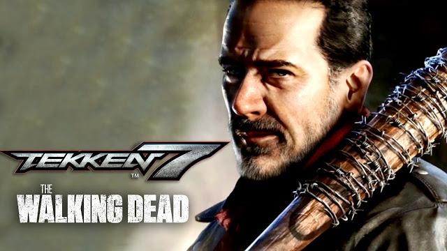 الكشف الرسمي على شخصية Negan من سلسلة The Walking Dead للعبة Tekken 7 والمزيد من هنا ..
