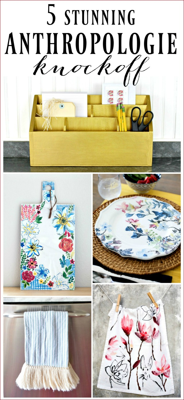 diy anthropologie knock offs