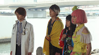 The cast of Ex-Aid