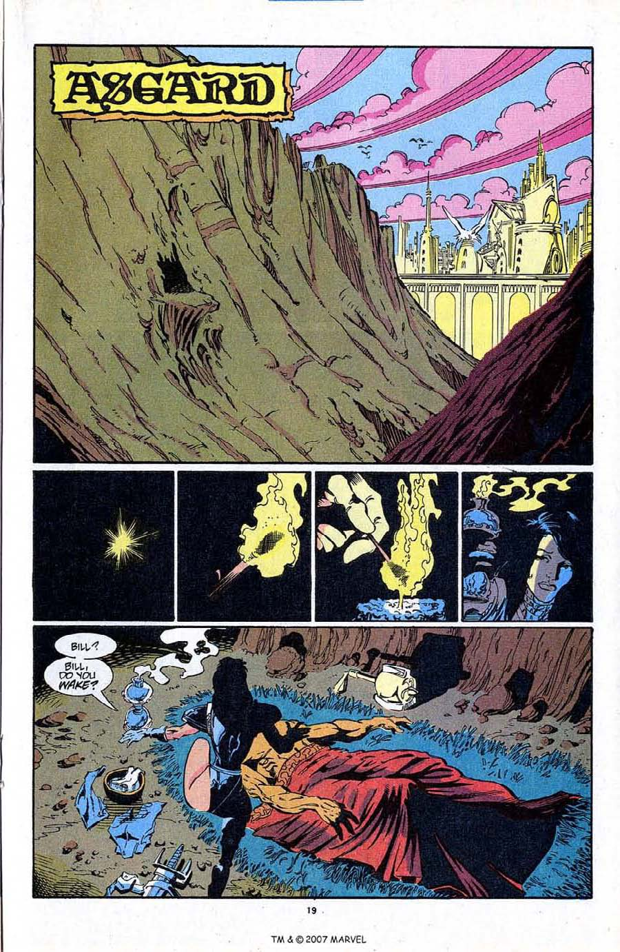 Read online Silver Surfer (1987) comic -  Issue #87 - 21