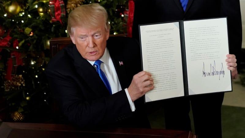 Ancaman Trump Pada Negara-negara yang Akan Voting di Majelis Umum PBB Soal Yerusalem, Kalau Tolak Dukungan AS Untuk Israel Maka...