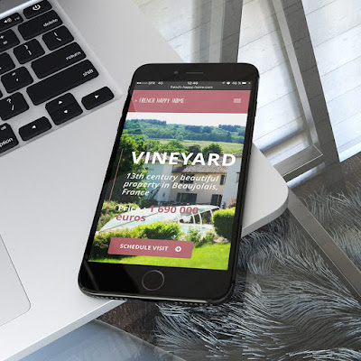 creation site vignoble