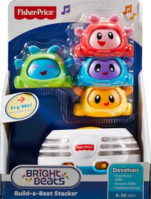 TOYS : JUGUETES - Fisher-Price  Bailones Apilables | Bright Beats  Producto Oficial 2016 | Mattel DHW29 | Edad: 6-36 meses  Comprar en Amazon España & buy Amazon USA